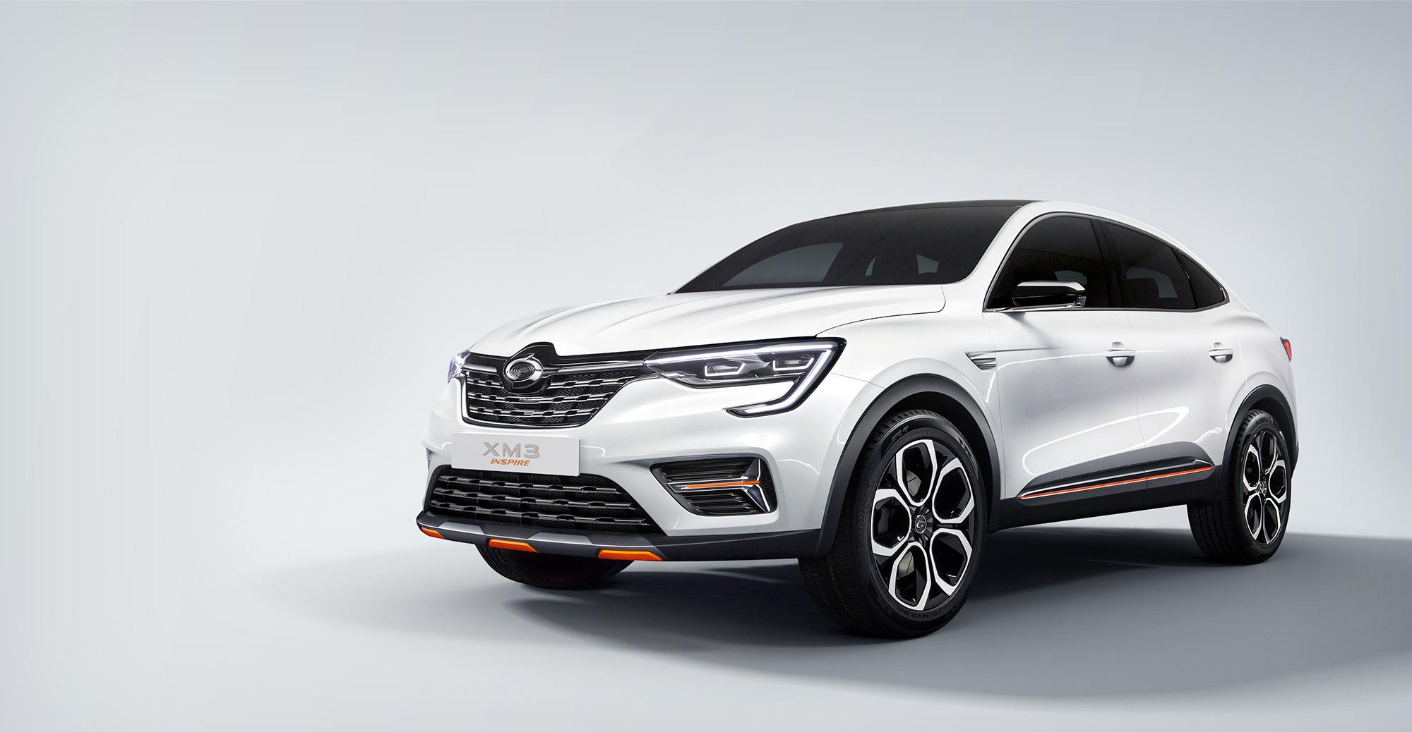 Рено Аркана на рынке Кореи будет выпускаться как Renault Samsung XM3 Inspire