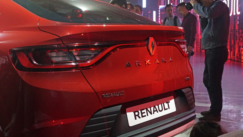Багажник Рено Аркана – объем, размеры, использование