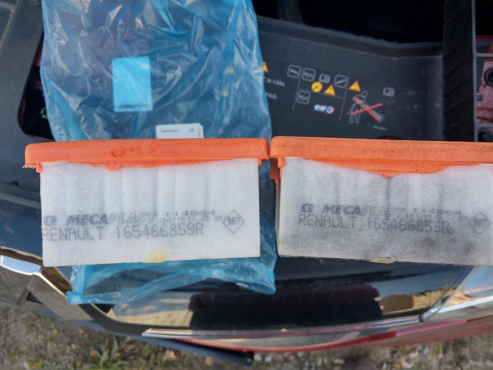 Замена воздушного фильтра Рено Аркана – детали и ход работ