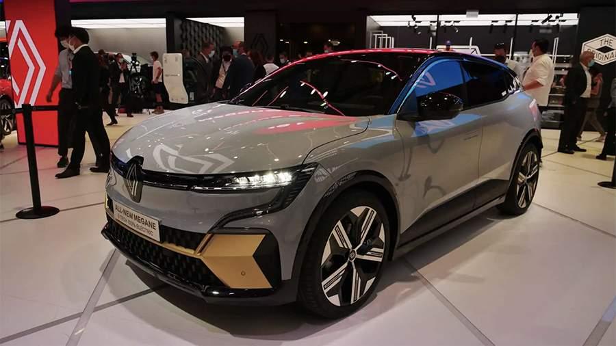 Компания Renault презентовала новый электрический кроссовер
